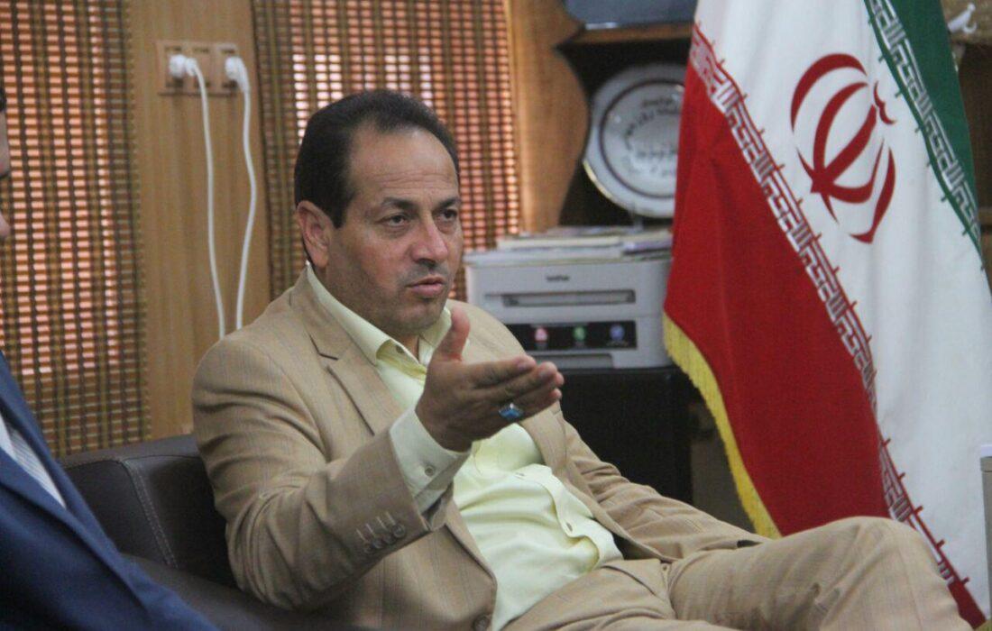 دیدار فرماندار شوش در مرکز سامد استانداری با مردم