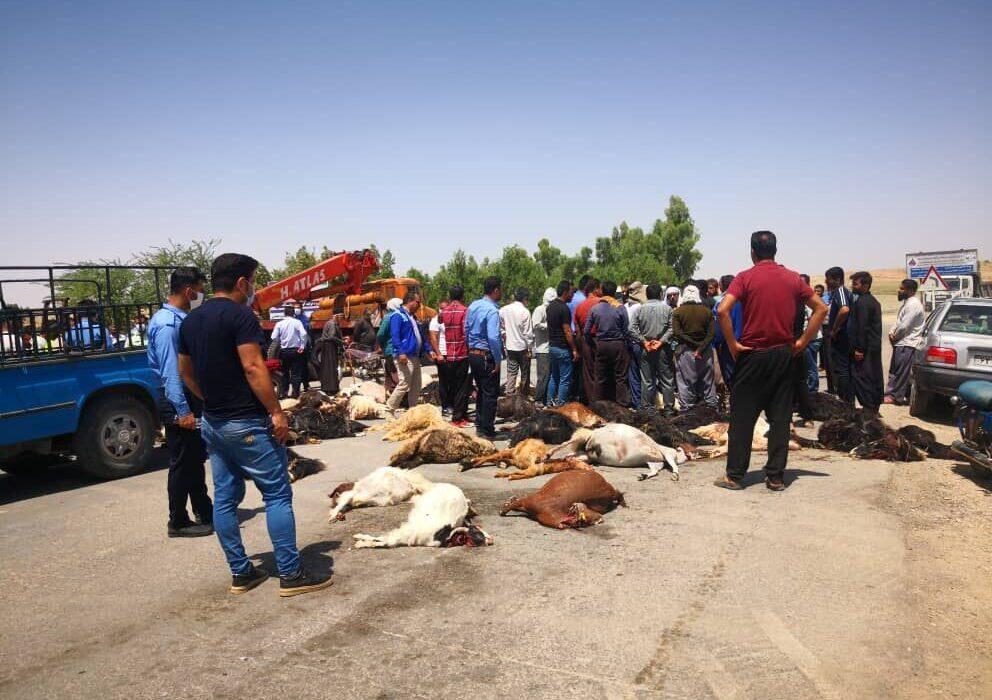 نتیجه آزمایش رهاسازی پساب پتروشیمی در مسجدسلیمان مثبت بود
