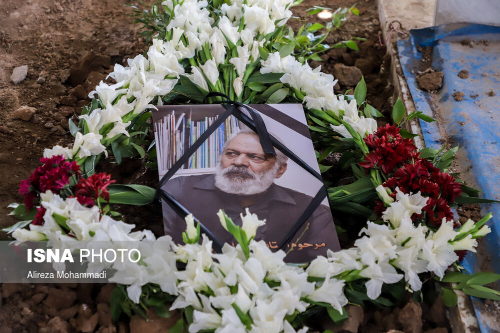 تشییع و خاکسپاری زندهیاد قاسم آهنینجان در اهواز
