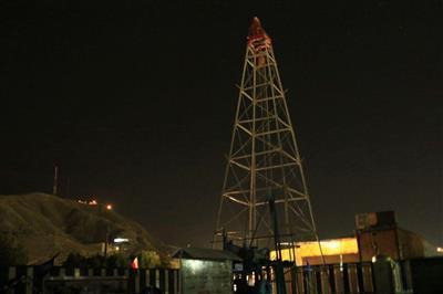 روشنایی نخستین چاه نفت خاورمیانه خاموش شد