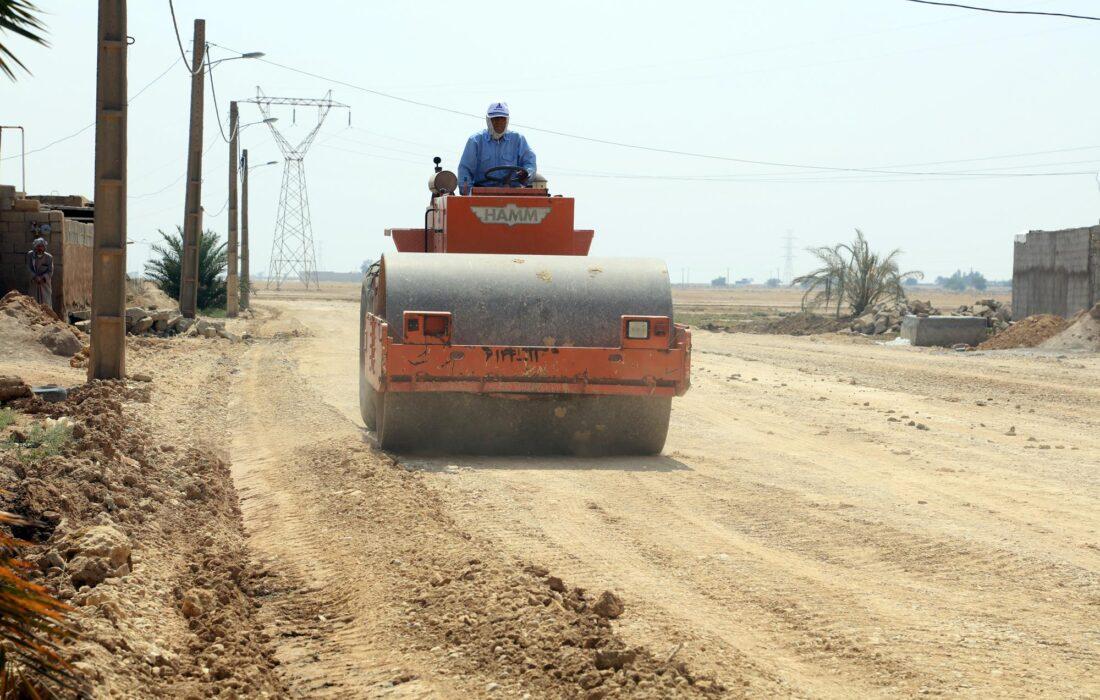 جادههای روستایی همجوار طرح مارون ۱و۴ شرکت ملی مناطق نفتخیز جنوب، بهسازی و آسفالت میشوند