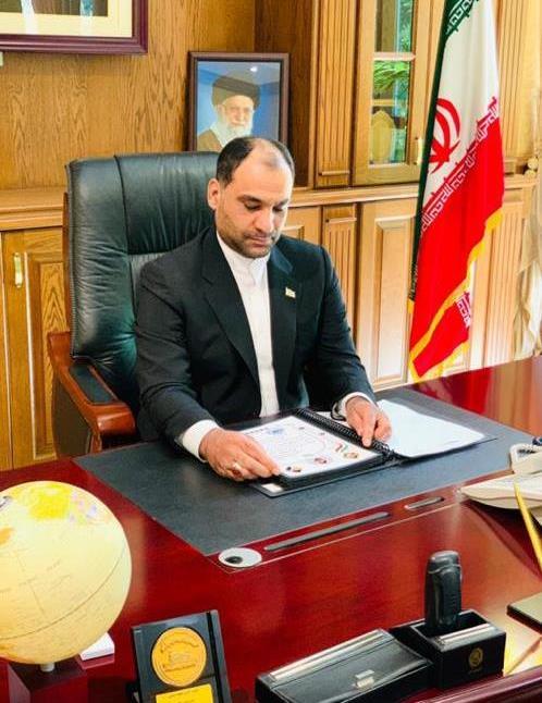 انتصاب دبیر کمیته صنعت و معدن ستاد مرکزی انتخاباتی مردمی سید ابراهیم رییسی