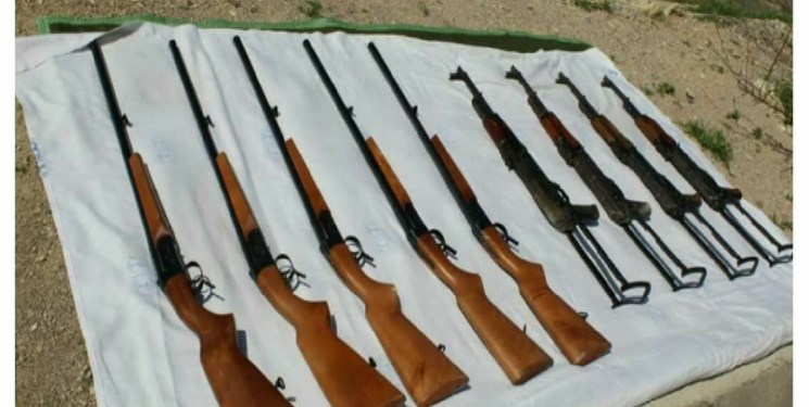 انهدام ۲ باند قاچاق سلاح در خوزستان