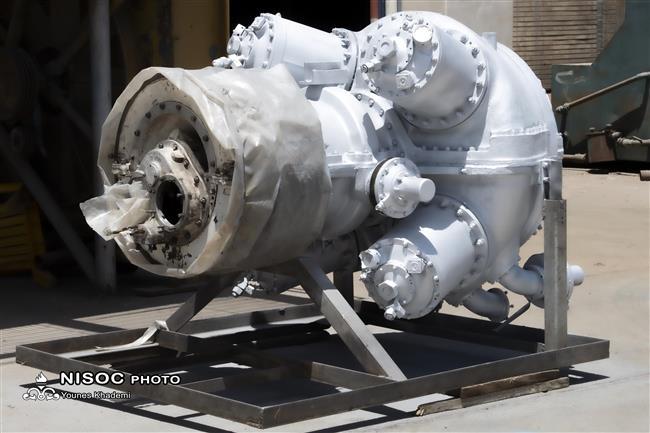 بازسازی توربینهای گازی رستون TB4000 با استفاده از قطعات ساخت داخل