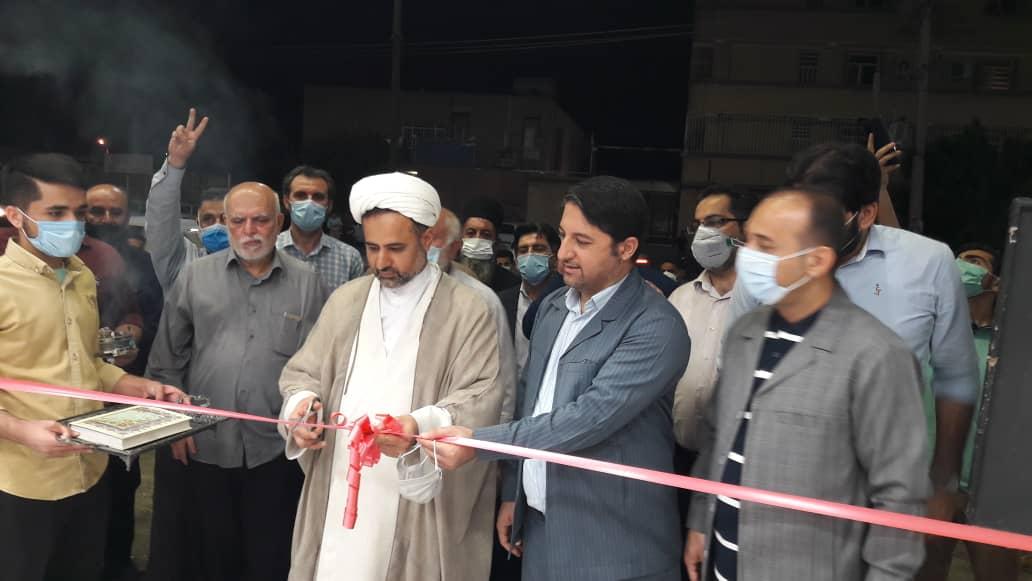 ستاد انتخاباتی مردمی سید ابراهیم رییسی در مسجدسلیمان افتتاح شد