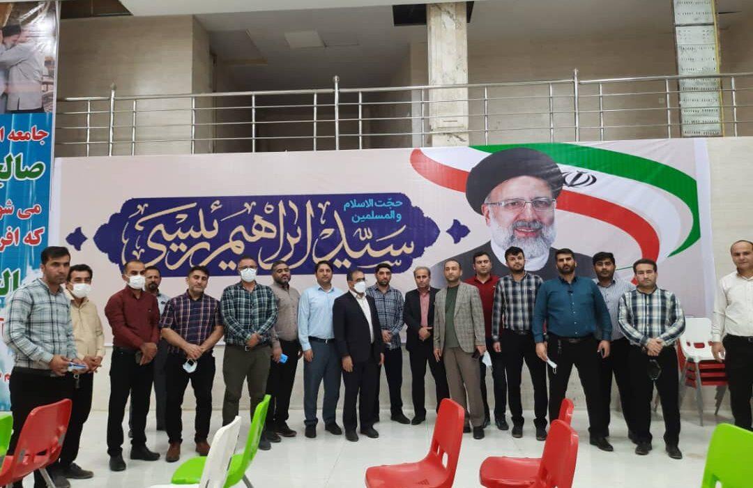 بازدید سرزده بازرس ویژه ستاد انتخاباتی آیت الله رییسی از ستاد انتخاباتی مردمی مسجدسلیمان