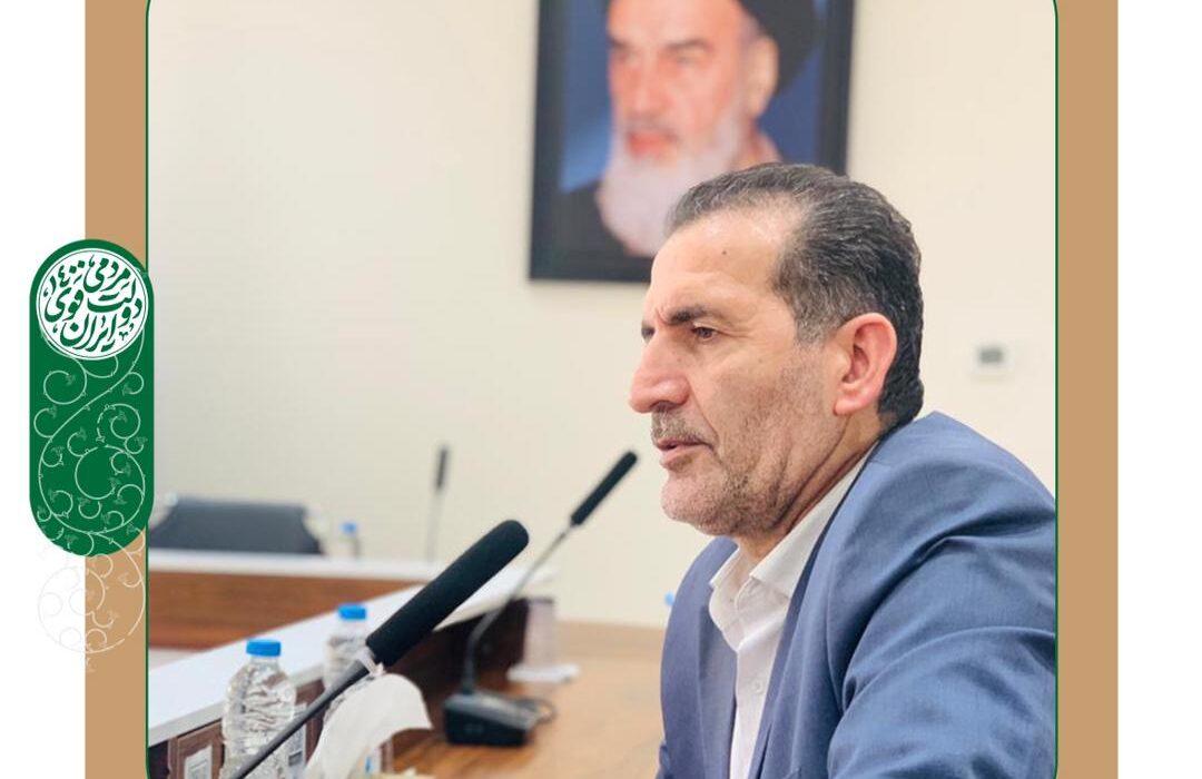 پیام تبریک رئیس هیات امنای شورای مرکزی و دبیر ستادها و تشکل های مردمی  ستاد انتخاباتی آیت الله رییسی دراستان خوزستان