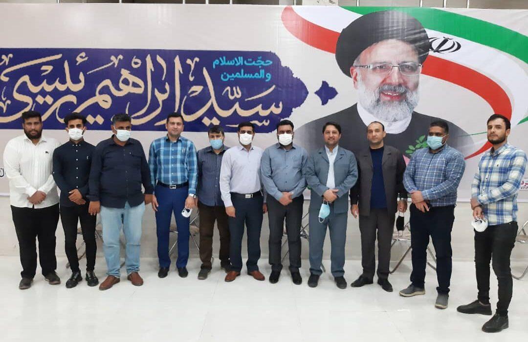 ستاد مردمی حجت الاسلام سید ابراهیم رییسی در مسجدسلیمان راه اندازی شد + تصاویر