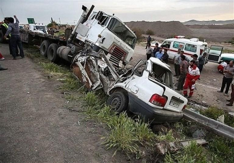 حادثه خودرویی در اهواز ۹ مصدوم بر جا گذاشت