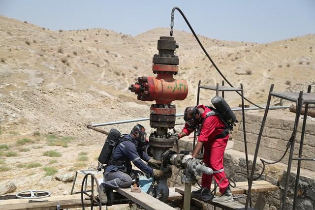 صرفه جویی ۱۷۰ میلیارد ریالی  شرکت نفت و گاز مسجدسلیمان در ایمن سازی چاه گازی