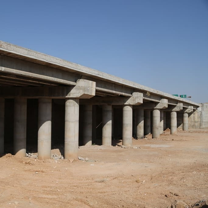 پروژه احداث پل های بزرگ ورودی شهر مسجدسلیمان به سرانجام رسید
