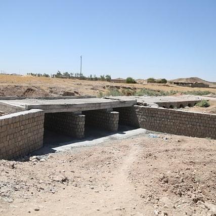 سهولت در تردد روستاییان هفتکلی با احداث یک دستگاه پل توسط نفتی ها