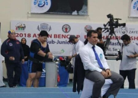 فرزند مسجدسلیمان مسابقات قهرمانی جهان را قضاوت می کند
