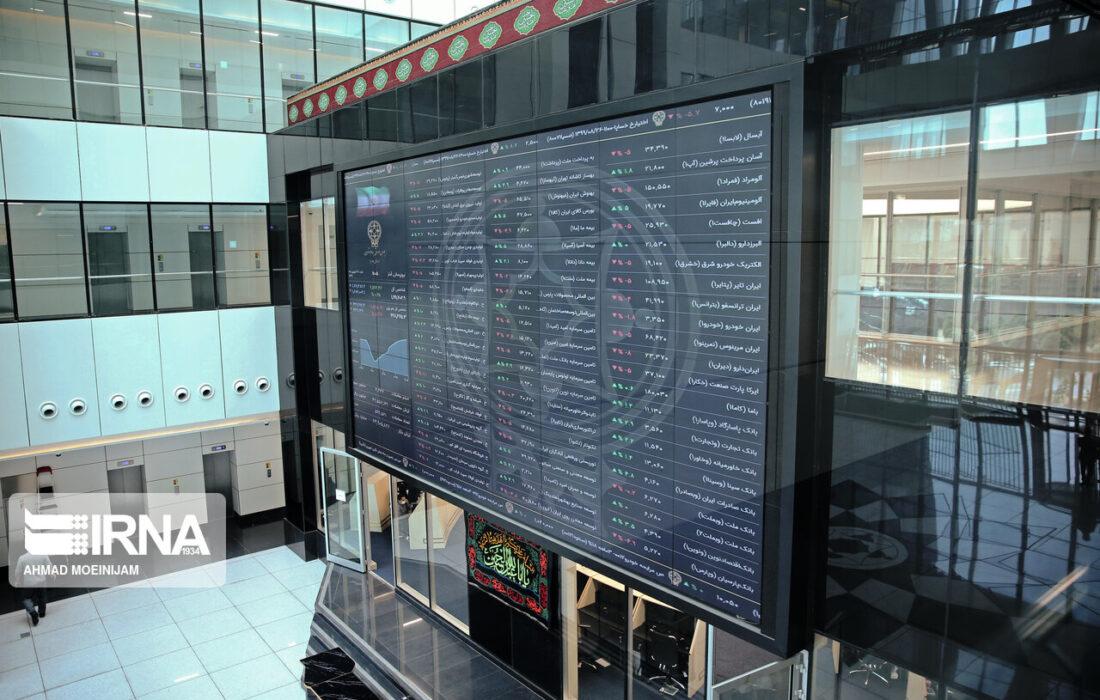 تداوم شاخص بورس در کانال یک میلیون و ۵۰۰ هزار واحد