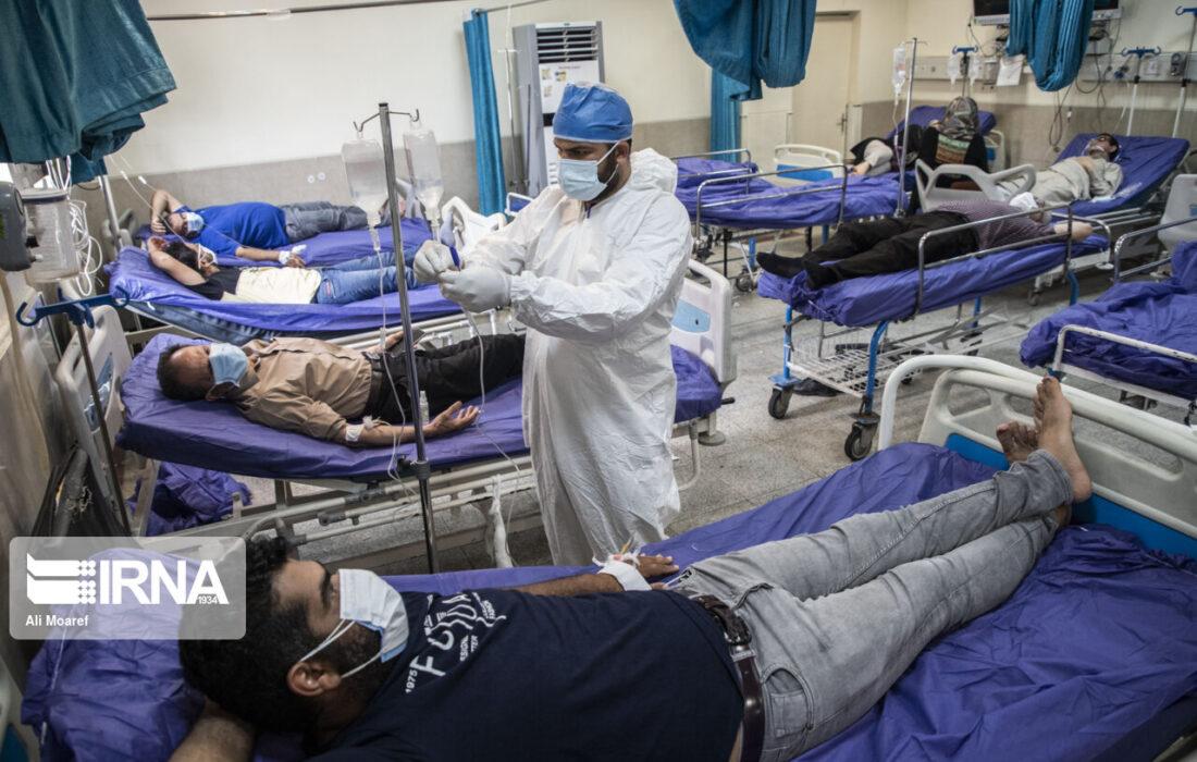 افزایش چهار برابری مراجعه بیماران کرونایی به بیمارستان های خوزستان