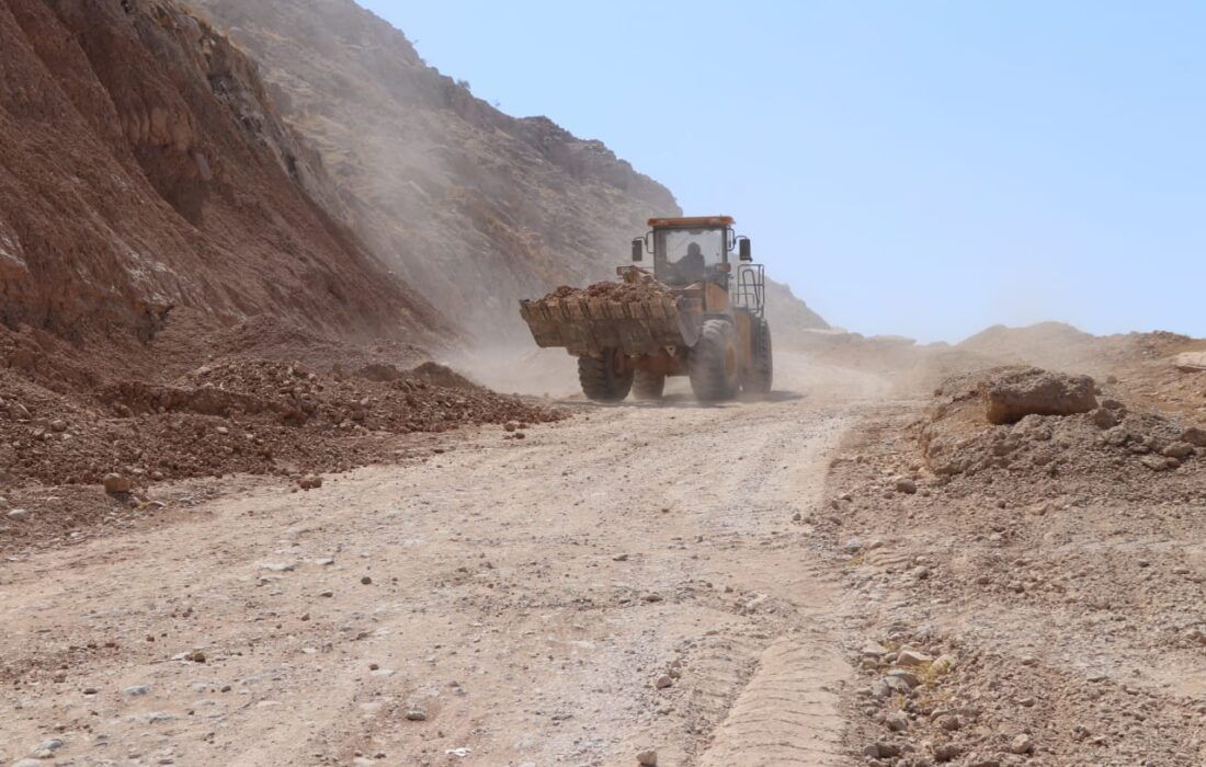 عملیات اجرایی احداث محور مسجدسلیمان_ایذه (منطقه جریک) با اعتباری بالغ بر ۶۰ میلیارد ریال آغاز شد
