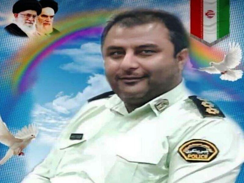 مامور نیروی انتظامی در آبادان به شهادت رسید