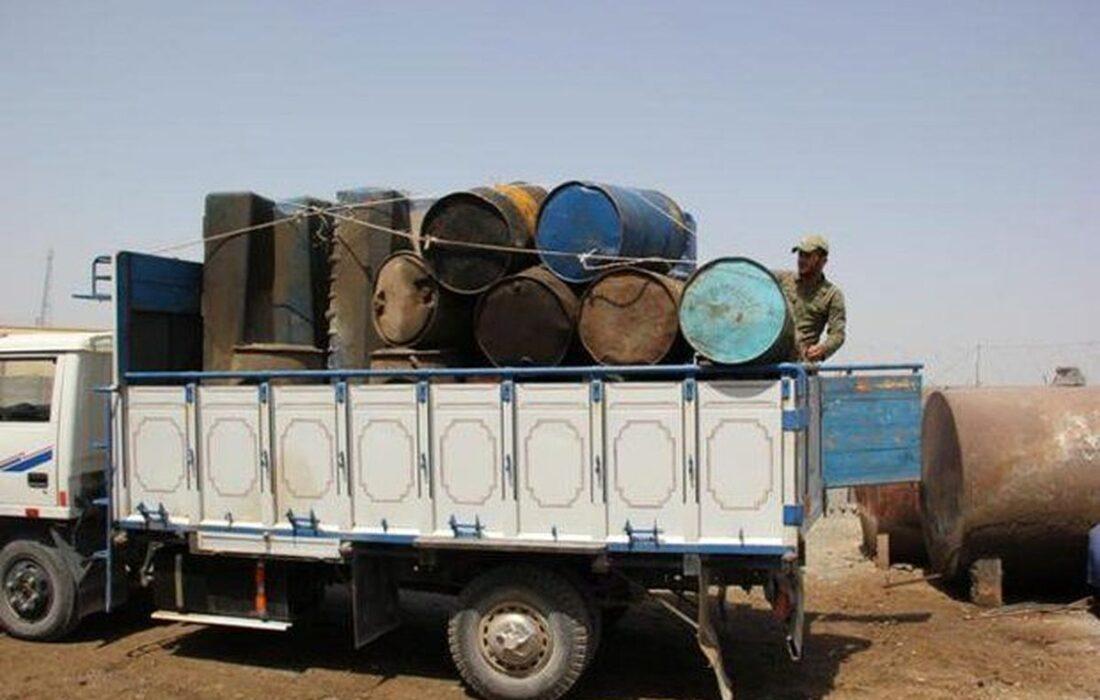کشف ۶۰ هزار لیتر نفت سرقتی از لوله انتقال نفت در شوش