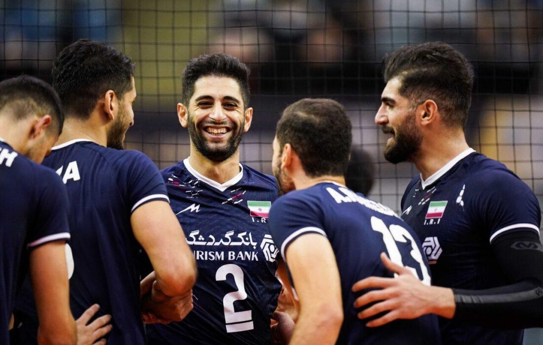 ایران سومین تیم پرافتخار والیبال آسیا