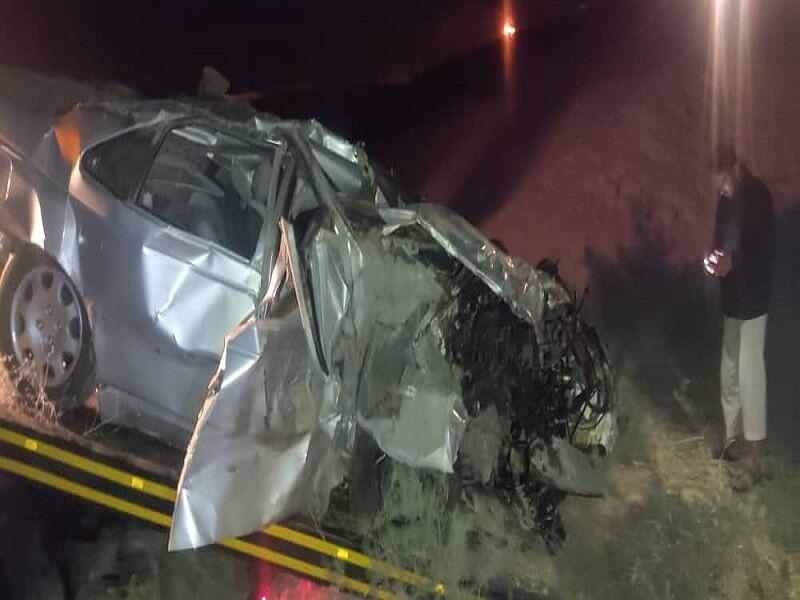 حادثه رانندگی در جاده مسجدسلیمان- اهواز با یک کشته و چهار مصدوم