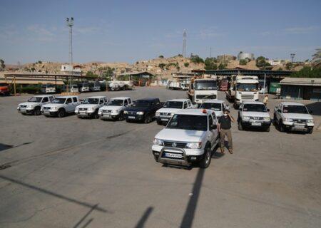 ماشین آلات شرکت نفت و گاز مسجدسلیمان به منطقه زلزله زده اندیکا اعزام شد