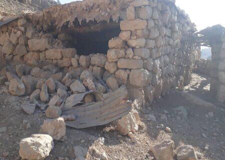 زلزله به منازل روستایی اندیکا خسارت وارد کرد
