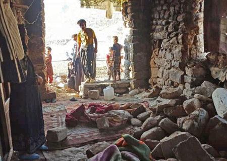 اندیکا در زلزله اخیر مظلوم واقع شد/سرما در راه است مردم سرپناه میخواهند