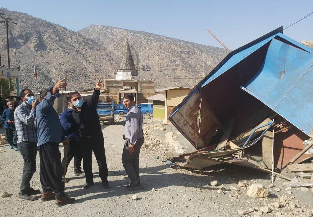 زلزله به ۲۰۰ منزل مسکونی در ایذه خسارت زد