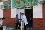 تامین کپسول اکسیژن درمانگاه خیریه حضرت ولیعصر ( عج) اهواز توسط شرکت بهره برداری نفت و گاز کارون