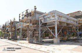 تعمیر اساسی ۵ واحد عملیاتی و یک مخزن ائتلاف در ناحیه آغاجاری
